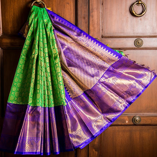 old pattu saree